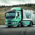 Elektrischer Müllwagen von Volvo (E-Mobilität)