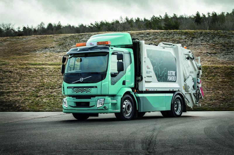 Zukunftsorientiert: Die elektrischen Lkw kommen